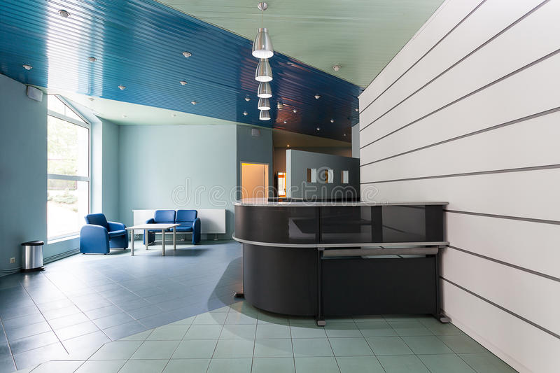 Reception and waiting room