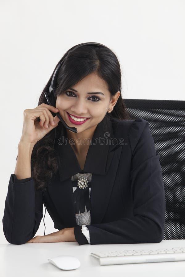 receptionist стоковые изображения