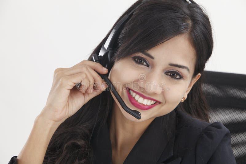 receptionist стоковая фотография rf