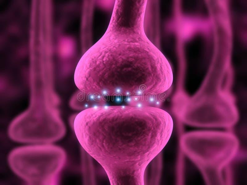 receptor aktywny ilustracja wektor