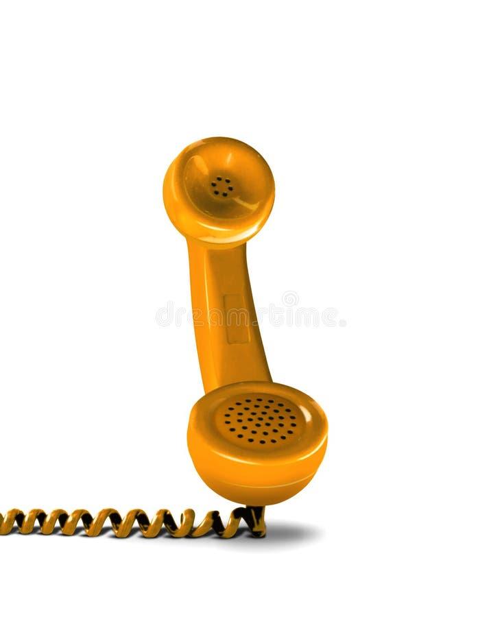 Receptor de teléfono foto de archivo