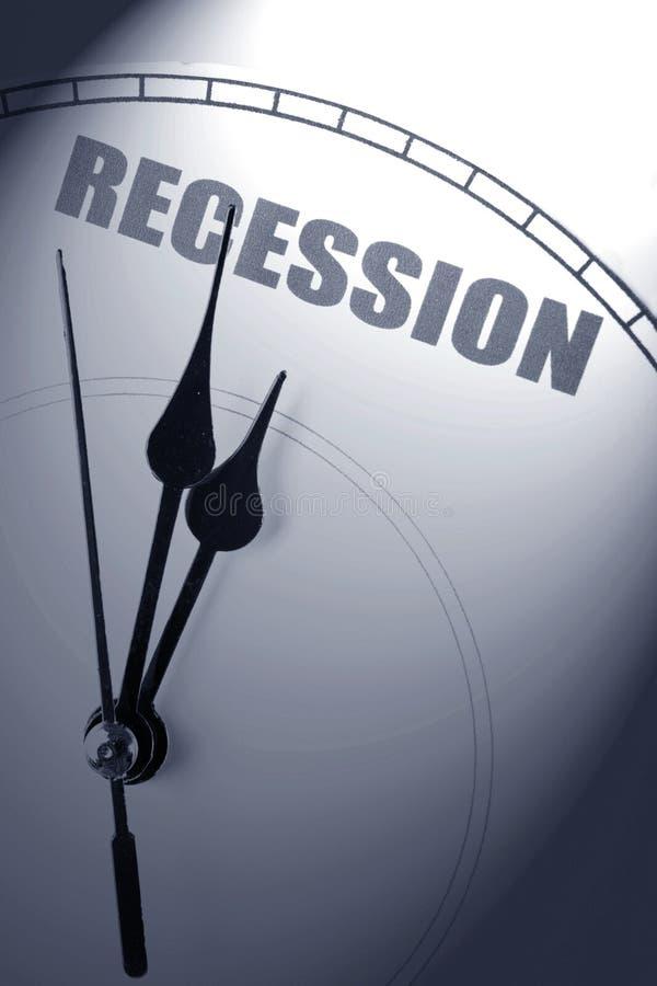 recesja gospodarcza fotografia stock