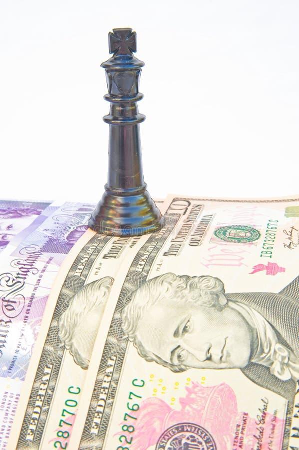 Recessie: het contante geld is Koning. royalty-vrije stock afbeeldingen