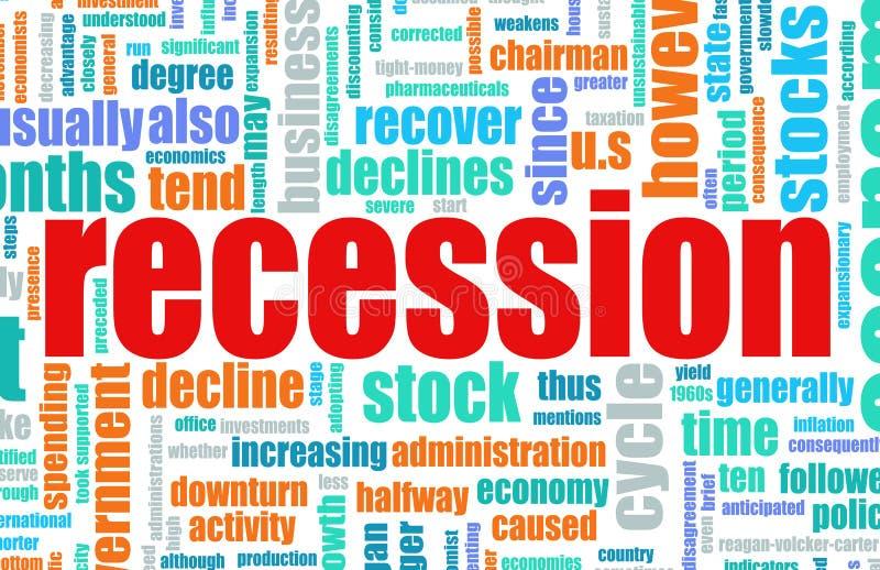 Recession vector illustration