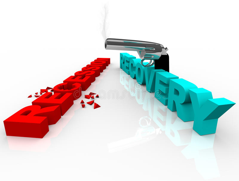 Download Recession Recovery - Shootout Stock Illustration - Image: 15581180