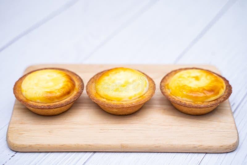 Receta agria Macao del huevo portugués imagenes de archivo