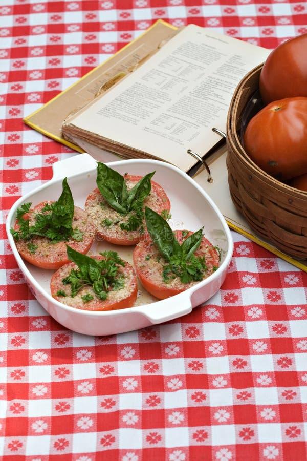 Receta del tomate imagen de archivo libre de regalías