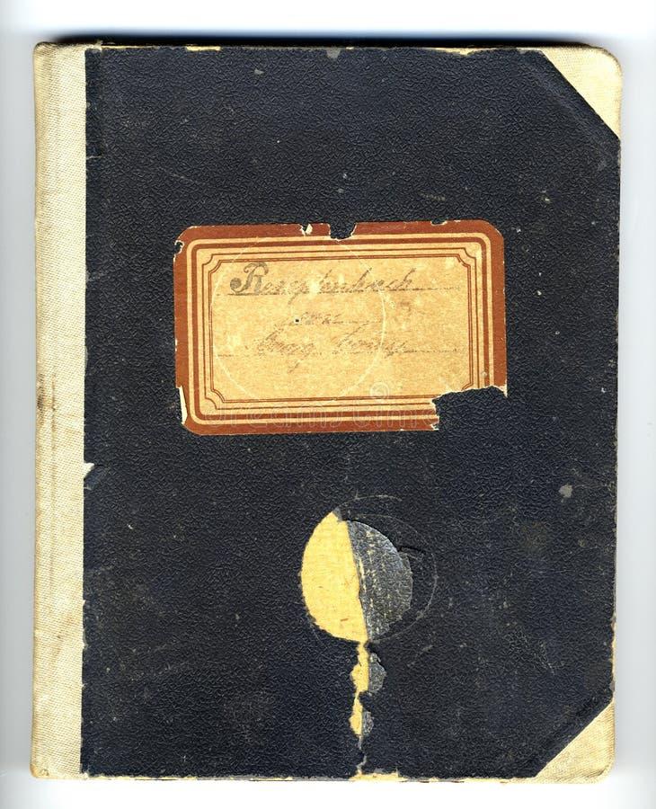 Receta-libro foto de archivo libre de regalías