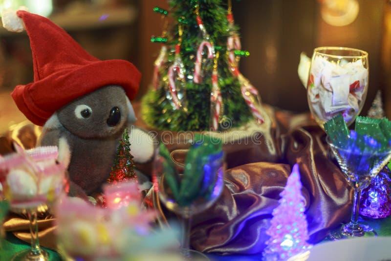 Recettes 2018 de gâteau et de dessert de Noël photos stock