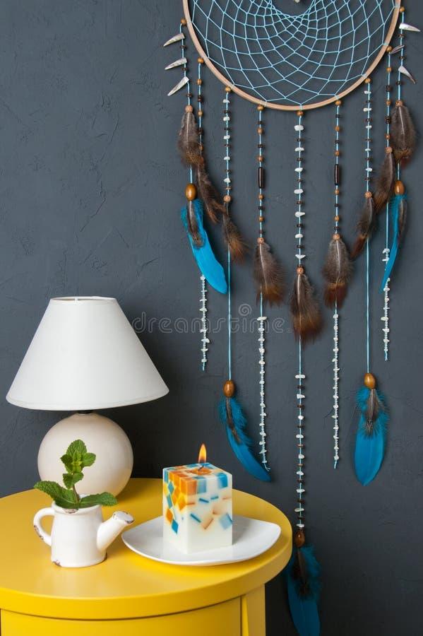 Receveur rêveur de turquoise photo stock