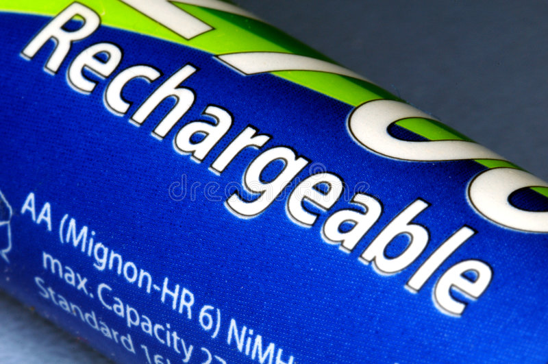 Rechargeable Battery royalty free stock photos