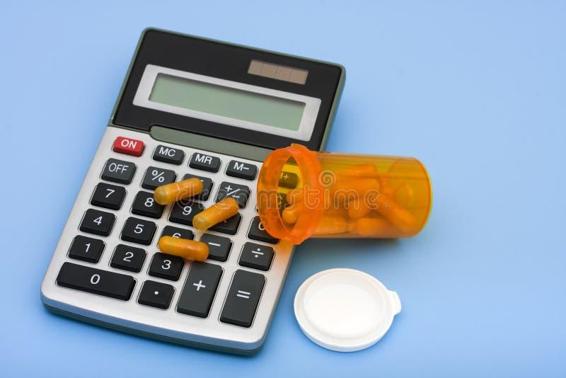 Rechengesundheitspflege-Kosten lizenzfreie stockbilder