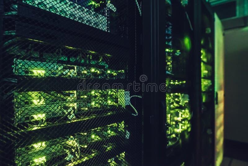 Rechenzentrumschnittstelle lizenzfreies stockfoto