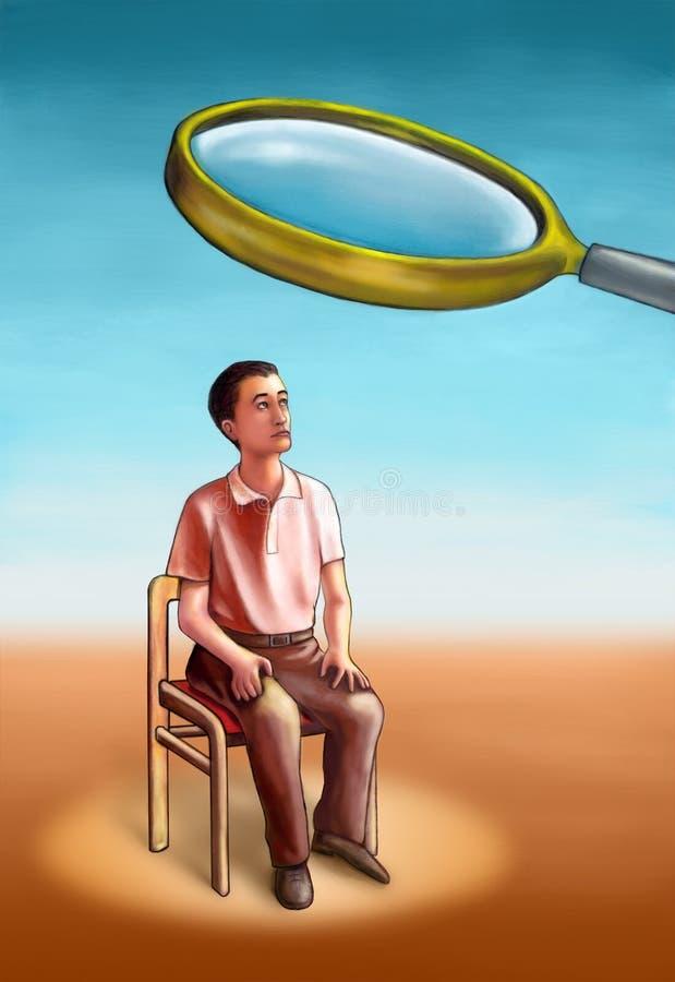 Recherche illustration stock