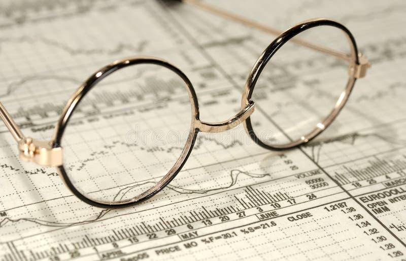 Recherche d'investissement photographie stock