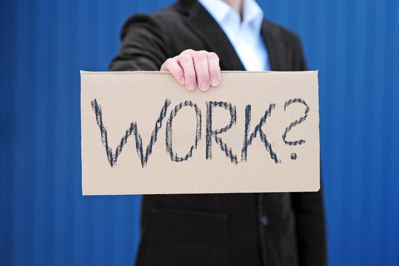 Download Recherche d'un travail image stock. Image du regarder - 17667859