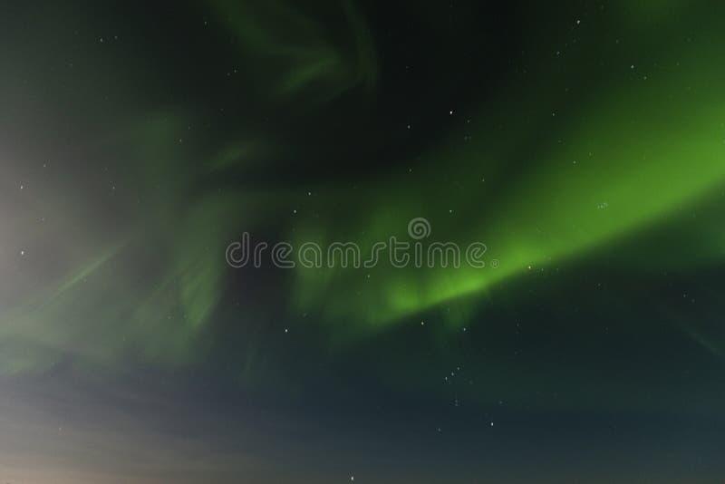 Recherche dans les lumières du nord photos stock