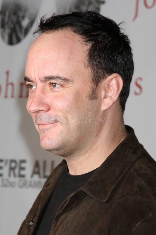 Recherche, Dave Matthews, John Varvatos image libre de droits