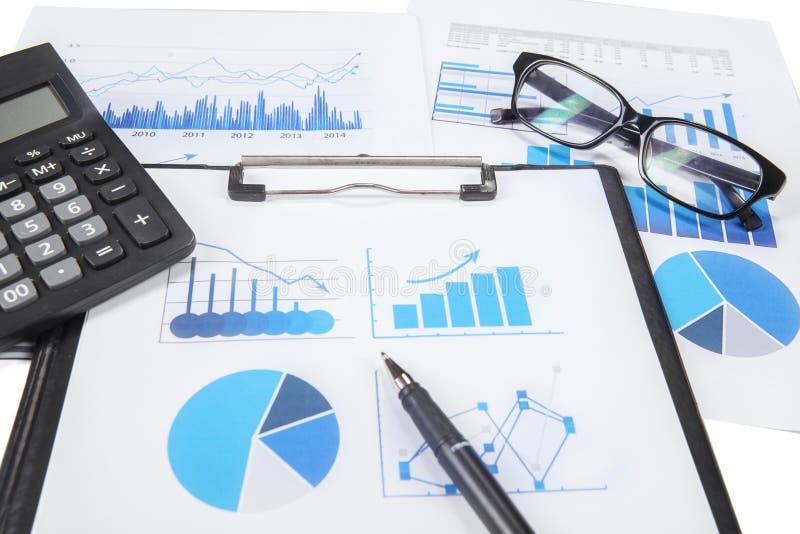 Recherche de finances d'affaires image libre de droits