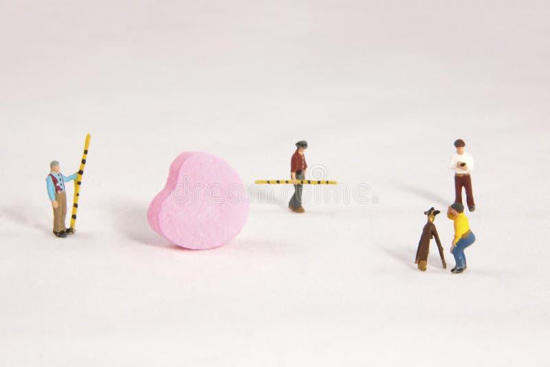 Recherche de l'amour photographie stock libre de droits