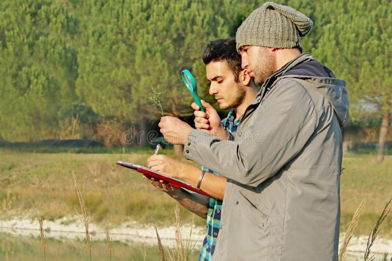 Recherche environnementale photographie stock