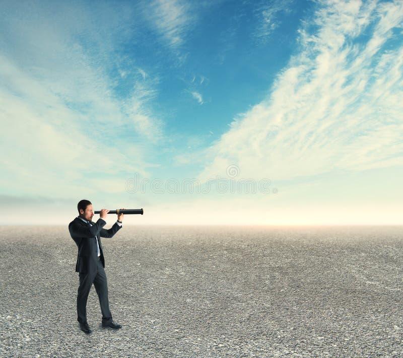 Recherche et concept d'avenir image libre de droits