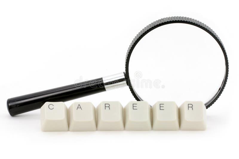 Recherche la carrière photos stock