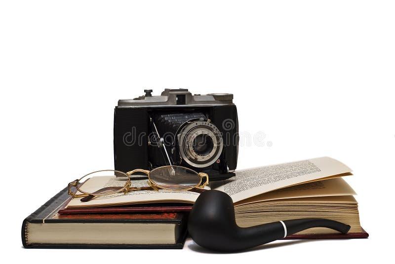 Recherche privée. image stock