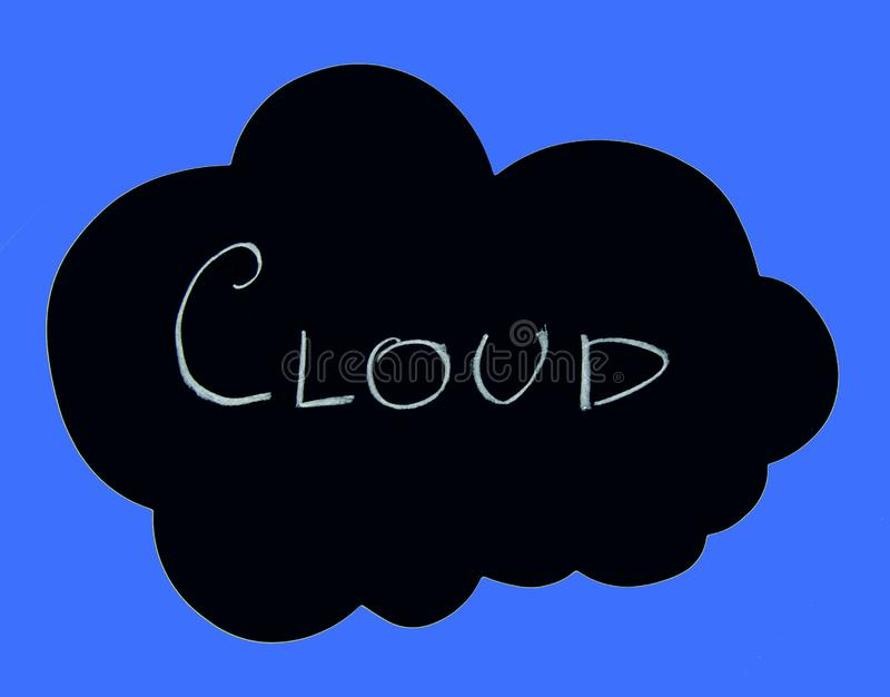 Rechnenkonzept der Wolke stockbilder