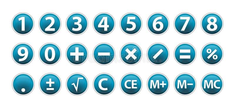 Rechner-Ikonen vektor abbildung