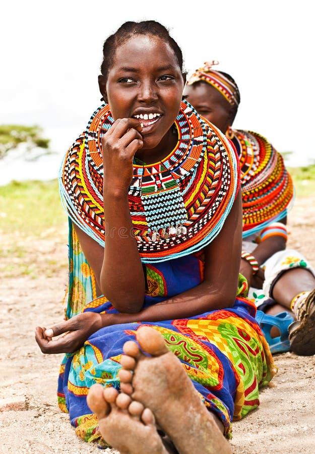 Recht afrikanisches jugendlich stockfotografie