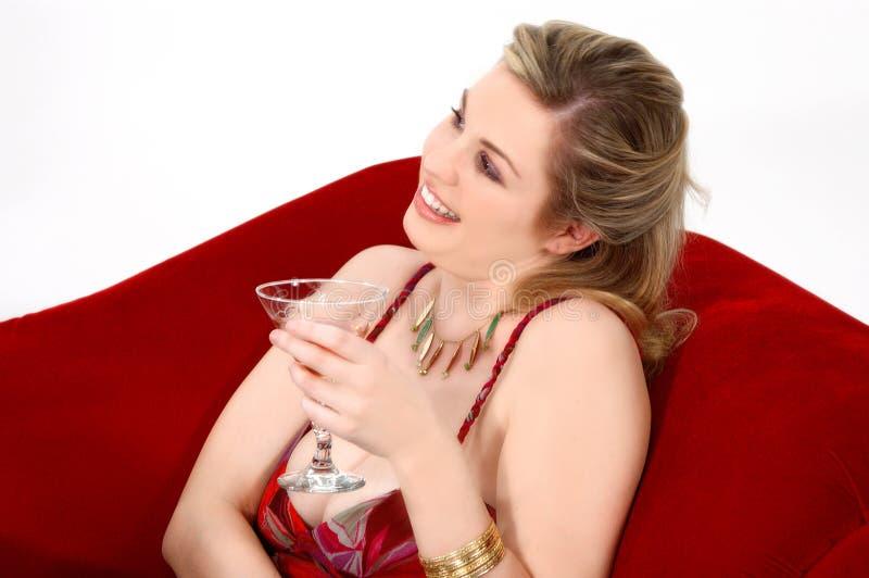 Recht blond lizenzfreie stockfotos