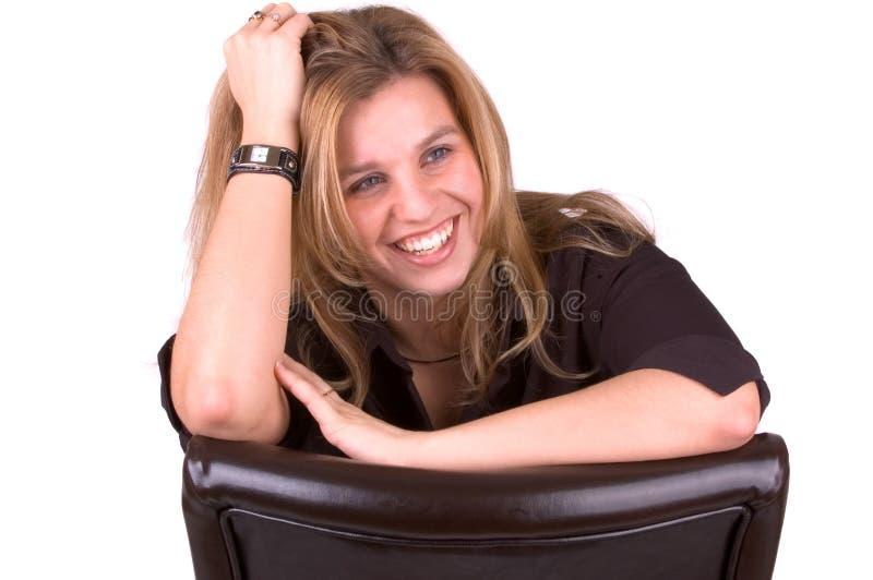 Recht blonde 2 lizenzfreies stockfoto