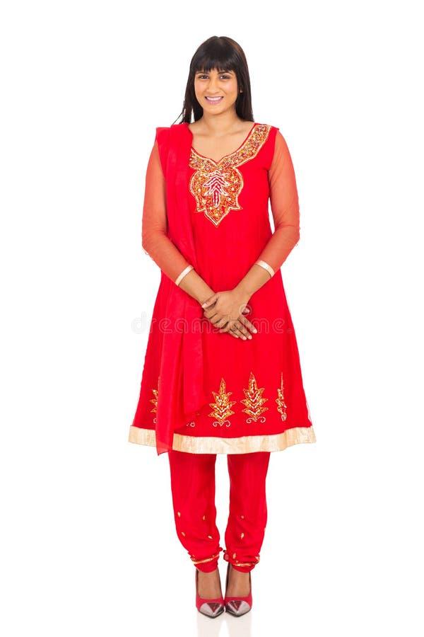 Recht indische Frau stockfotografie