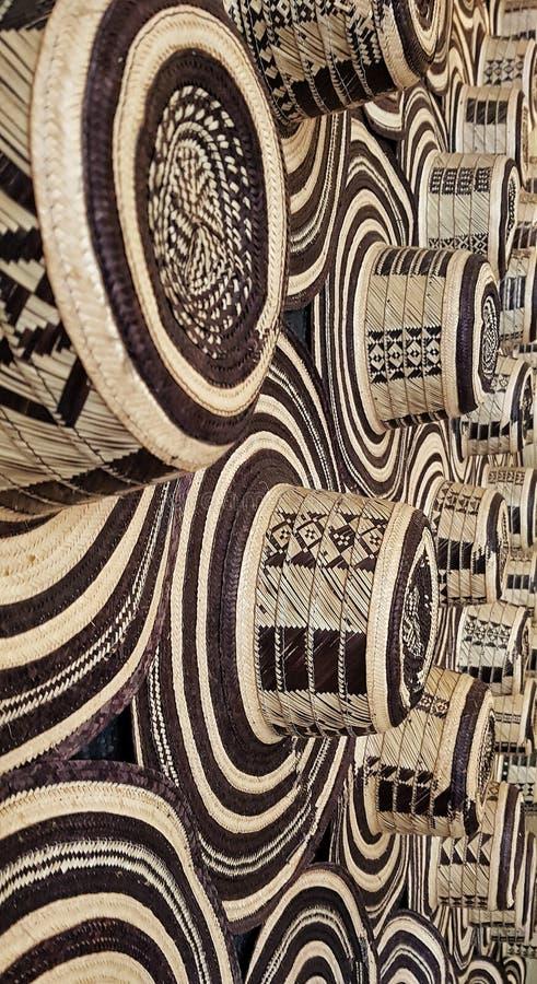 Recht kolumbianischer Hut Typisch handcraft stockfotografie