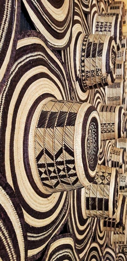 Recht kolumbianischer Hut Typisch handcraft lizenzfreie stockfotos