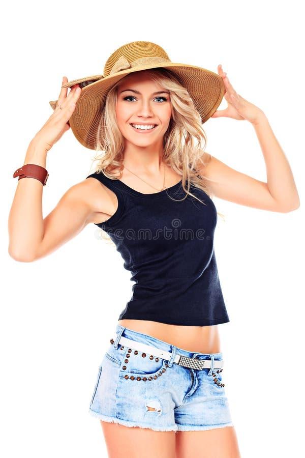 Recht lächelnd lizenzfreie stockfotografie