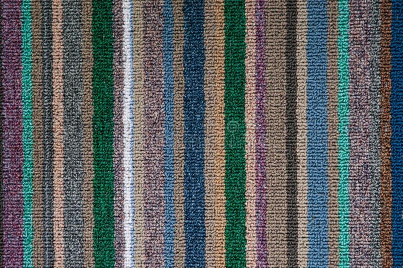 Recht patroon van tapijttextuur royalty-vrije stock fotografie