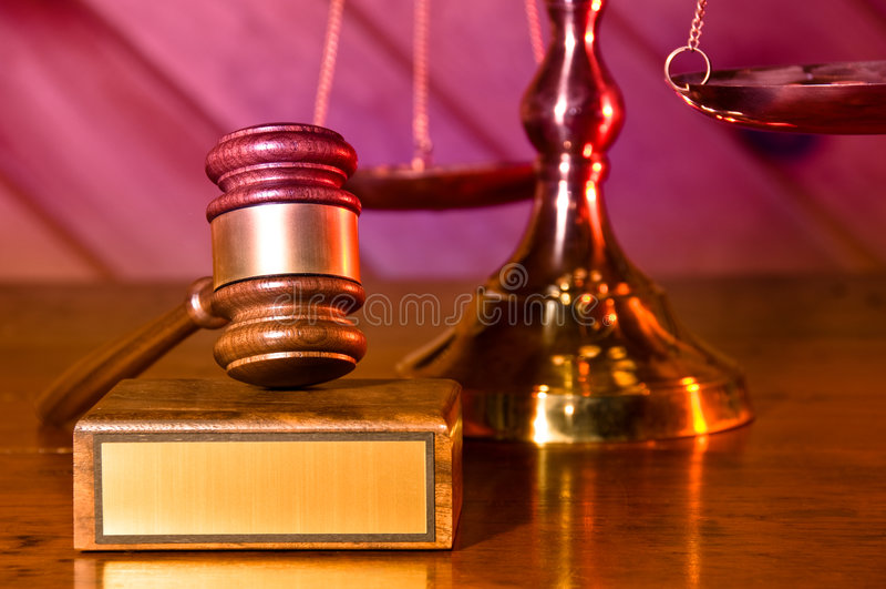 Recht und Ordnung stockfotos