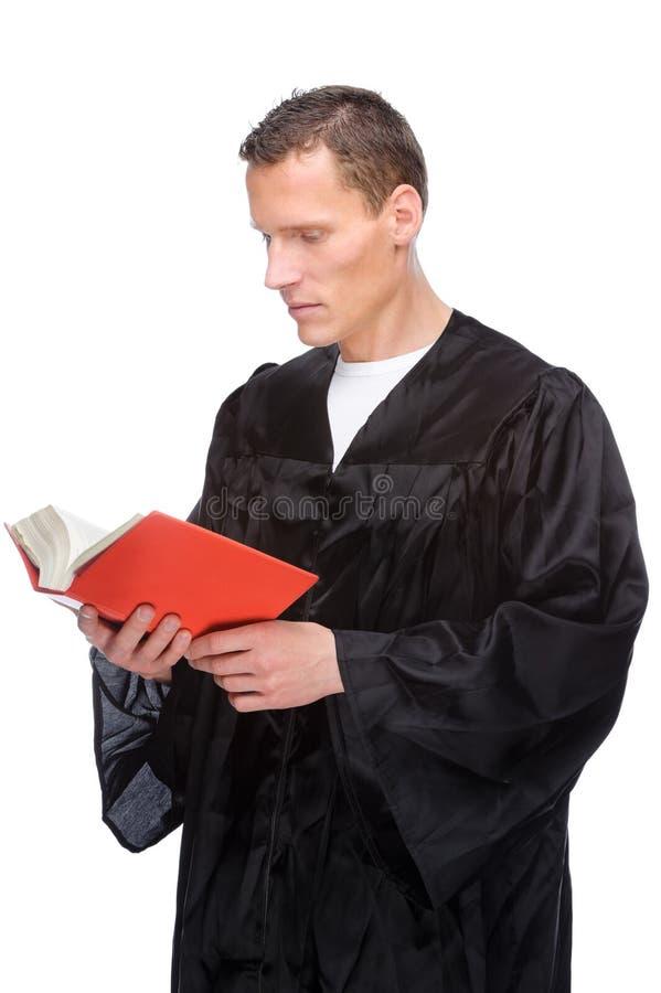 Rechter (advocaat) royalty-vrije stock foto