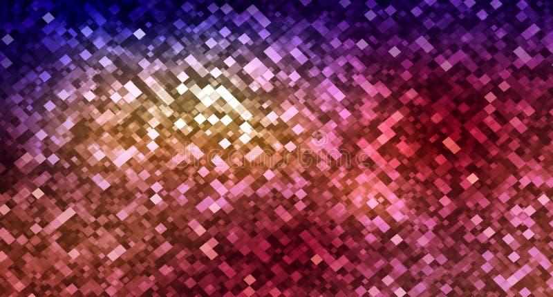 Rechthoek abstracte achtergrond royalty-vrije illustratie