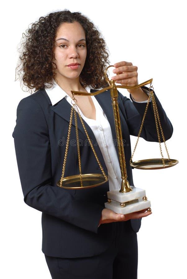 Rechtsanwalt lizenzfreies stockbild