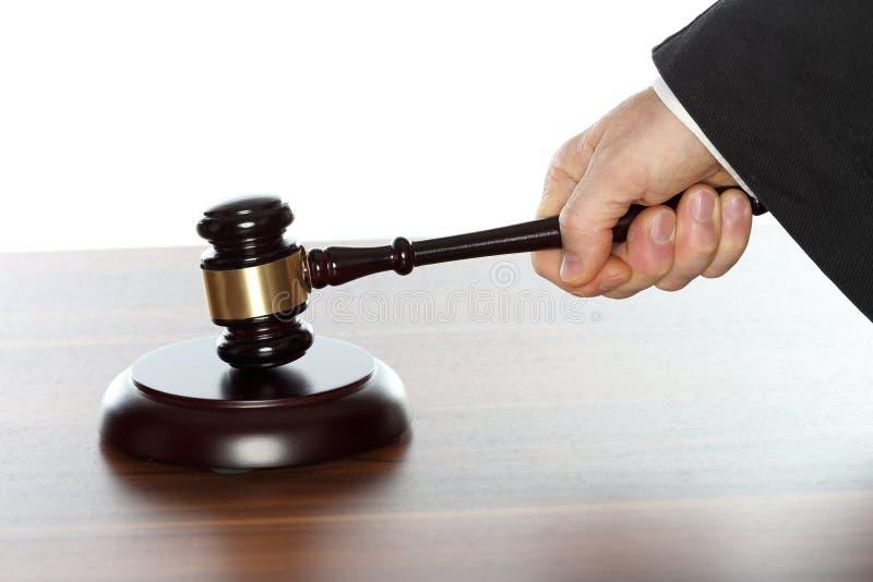 Rechtsanwalt arbeitet stockfoto
