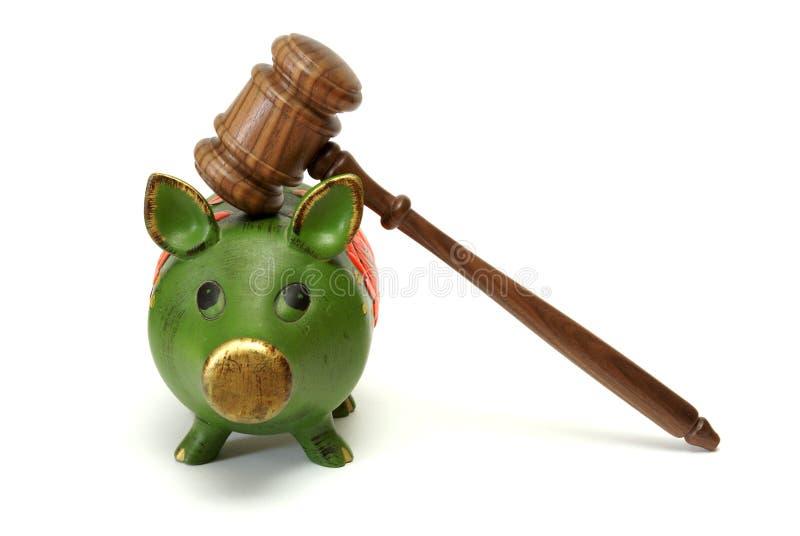 Rechtskosten stockfotografie