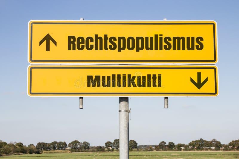 Rechtspopulismus  photo stock