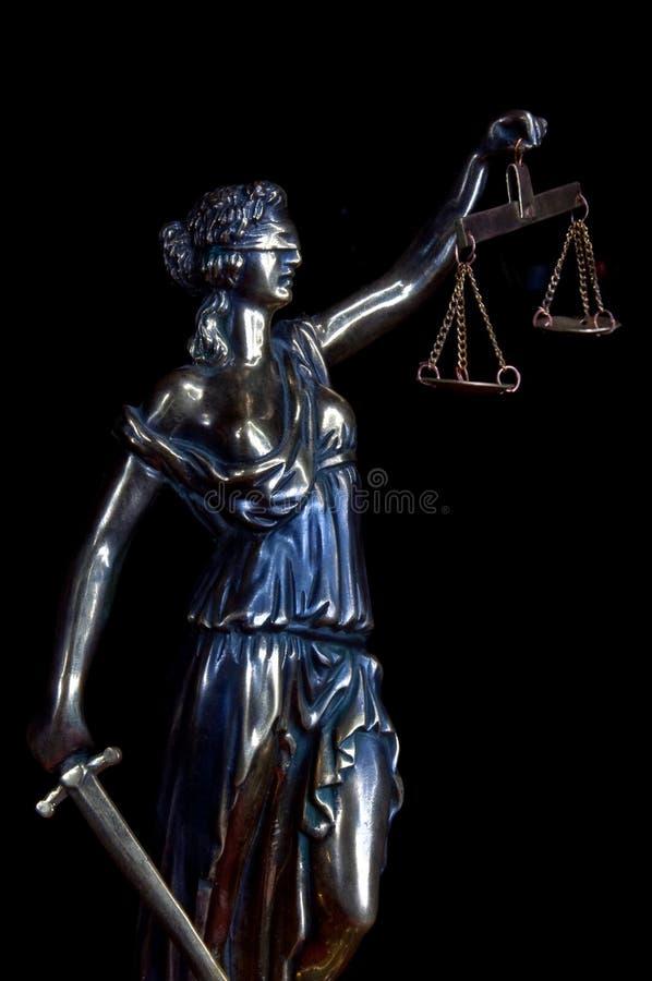 Rechtvaardigheid stock foto