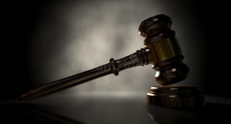 Rechtvaardigheid Gavel vector illustratie