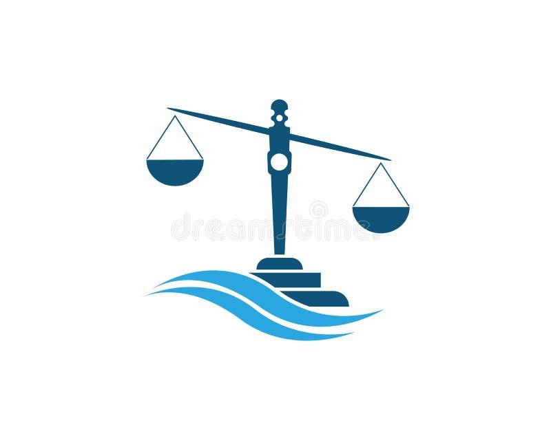 rechtvaardigheid stock illustratie