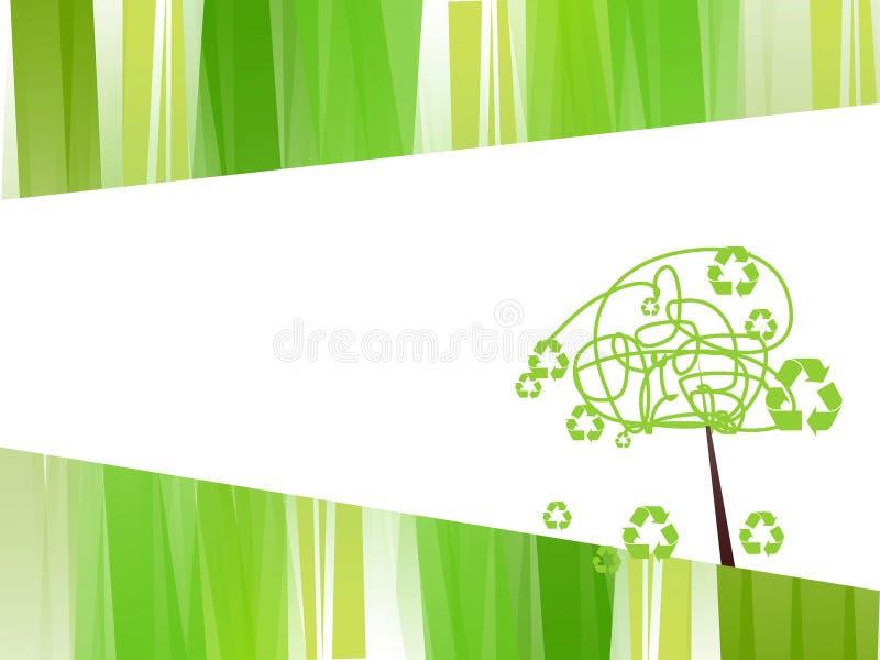 Recicl ilustração royalty free
