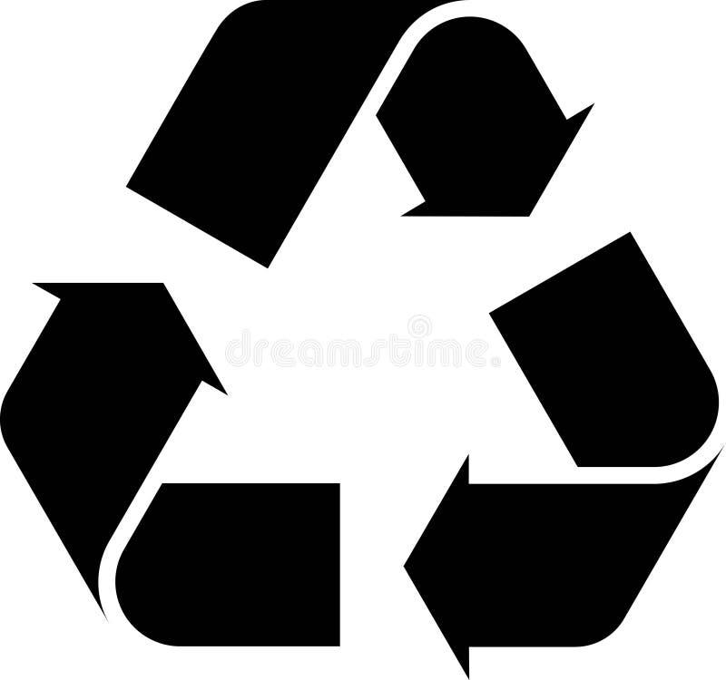 Recicl ilustração stock